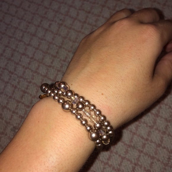 J. Crew Jewelry - Jcrew layered bubble bracelet